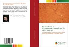 Buchcover von Propriedades e Comportamento Mecânico de Solos do Brasil