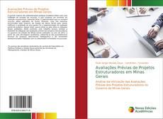 Capa do livro de Avaliações Prévias de Projetos Estruturadores em Minas Gerais