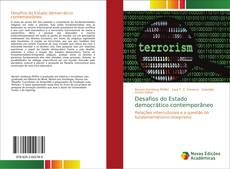 Capa do livro de Desafios do Estado democrático contemporâneo
