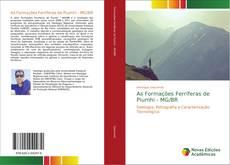 Capa do livro de As Formações Ferríferas de Piumhi - MG/BR