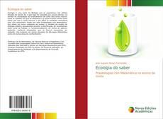 Capa do livro de Ecologia do saber