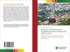 Portada del libro de Impactos econômicos da atividade turística no Brasil de 2000 a 2013