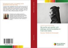 Bookcover of De exílio em exílio: um diálogo entre Eurípides e Clara de Góes