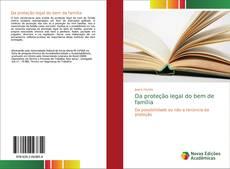 Da proteção legal do bem de família kitap kapağı