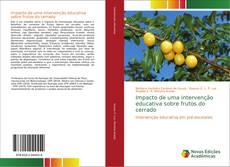 Capa do livro de Impacto de uma intervenção educativa sobre frutos do cerrado