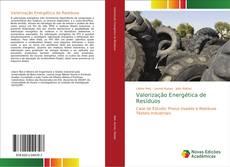 Capa do livro de Valorização Energética de Resíduos