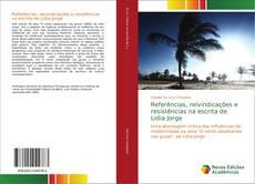 Capa do livro de Referências, reivindicações e resistências na escrita de Lídia Jorge