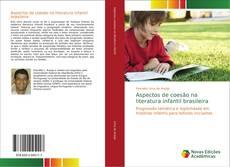 Capa do livro de Aspectos de coesão na literatura infantil brasileira