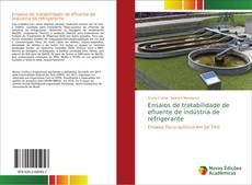 Capa do livro de Ensaios de tratabilidade de efluente de indústria de refrigerante
