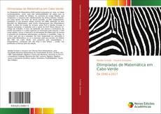 Capa do livro de Olimpíadas de Matemática em Cabo Verde