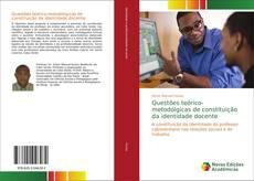Capa do livro de Questões teórico-metodólgicas de constituição da identidade docente