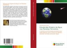 Capa do livro de Estudo das Origens da Água nos Planetas Terrestres