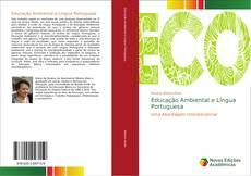 Capa do livro de Educação Ambiental e Língua Portuguesa