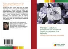 Couverture de Análise reflexiva de trabalhos produzidos em oficinas de L. Portuguesa