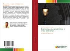 Обложка Economia, energia elétrica e meio ambiente