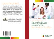 Capa do livro de Uso de Animações como prática motivadora para Ensino de Química