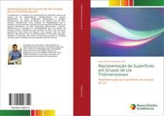 Buchcover von Representação de Superfícies em Grupos de Lie Tridimensionais