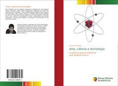 Arte, ciência e tecnologia kitap kapağı