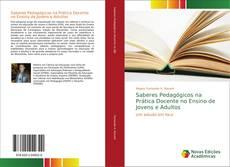 Portada del libro de Saberes Pedagógicos na Prática Docente no Ensino de Jovens e Adultos