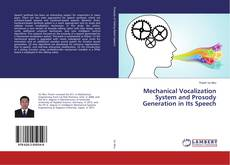 Buchcover von Mechanical Vocalization System and Prosody Generation in Its Speech