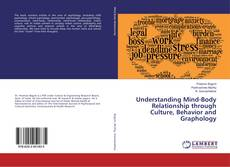 Buchcover von Understanding Mind-Body Relationship through Culture, Behavior and Graphology