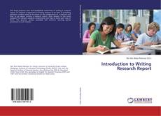 Borítókép a  Introduction to Writing Research Report - hoz