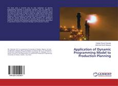 Bookcover of Application of Dynamic Programming Model to Production Planning