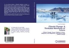 Capa do livro de Climate Change: A Thinkable Manifesto of Future