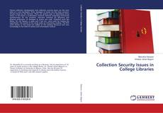 Bookcover of Collection Security Issues in College Libraries