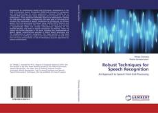 Обложка Robust Techniques for Speech Recognition