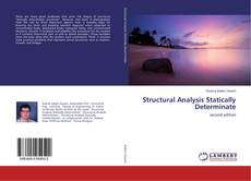 Capa do livro de Structural Analysis Statically Determinate