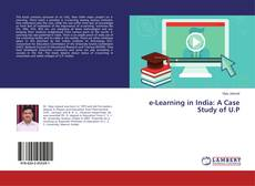 e-Learning in India: A Case Study of U.P的封面