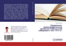 Bookcover of Социально-демографическое развитие Тобольской губернии в 1861-1913 гг.