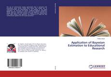 Copertina di Application of Bayesian Estimation to Educational Research