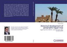 Bookcover of Historical development of geographic Egypt map