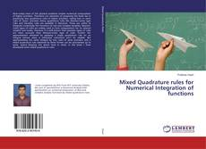 Buchcover von Mixed Quadrature rules for Numerical Integration of functions