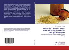 Bookcover of Modified Terpenic Acids from Boswellia serrata : Biological Activity
