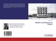 Buchcover von Modern Architecture in Cyprus
