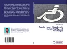 Copertina di Special Needs Education in Kenya: Reality and Challenges