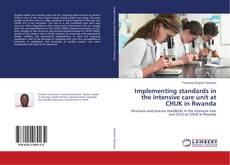 Bookcover of Implementing standards in the intensive care unit at CHUK in Rwanda