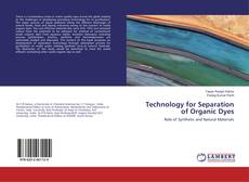 Buchcover von Technology for Separation of Organic Dyes