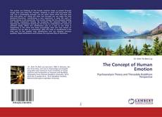Bookcover of The Concept of Human Emotion