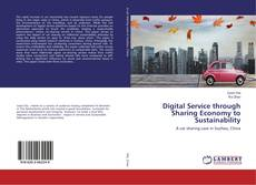 Capa do livro de Digital Service through Sharing Economy to Sustainability