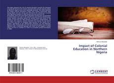 Couverture de Impact of Colonial Education in Northern Nigeria