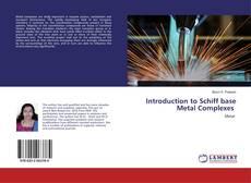 Capa do livro de Introduction to Schiff base Metal Complexes
