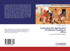 Capa do livro de Evaluating the Significance of External Funding in Africa