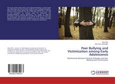 Portada del libro de Peer Bullying and Victimization among Early Adolescence