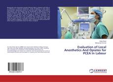 Bookcover of Evaluation of Local Anesthetics And Opiates for PCEA In Labour
