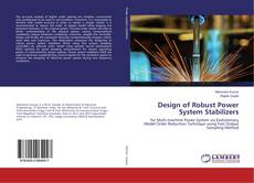 Bookcover of Design of Robust Power System Stabilizers