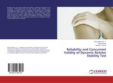 Portada del libro de Reliability and Concurrent Validity of Dynamic Rotator Stability Test